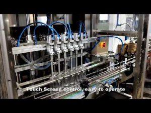 automatisk 6 huvuden som dispenserar rengöringsmedel för klorvätskepåfyllningsmaskin