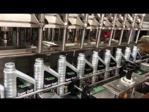 helautomatisk kolvsmörjolja smörjoljepåfyllningsutrustningslinje