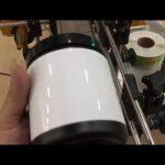 husdjursglasburk aluminiumburk och etikettmaskin för flaskklistermärken