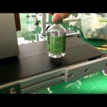 stationär klistermärke etiketteringsmaskin för plastflaskor