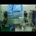 30 ml till 100 ml dubbelspårnings- och skruvmaskin för rund flaska