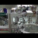 roterande plattan modell liten trigger pump cap caping machine till salu