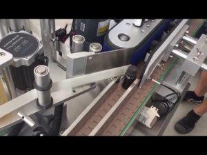 3000 bph automatiska vertikala injektionsflaskor etiketter för etiketter för klistermärken