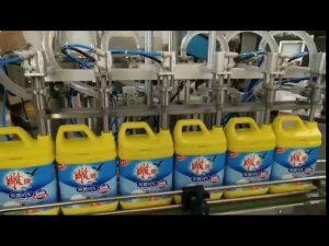 automatisk 8 huvud tvättmedel för flaskmaskin för schampo