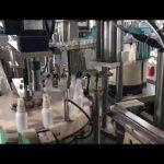 Sanitizer flytande fyllningsmaskin, etanol desinfektionsmedel fyllningsmaskin