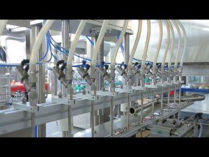 desinfektionsmedel flytande handtvål alkohol flaska maskin