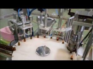 automatisk e-flytande 10 ml flaskans fyllningsapparat