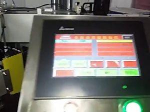 automatisk datoriserad etikettutskriftsmaskin rullklistermärke plastpåse etikettmaskin