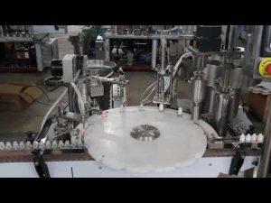 automatisk ögondroppsfyllningsmaskin, liten flaskfyllnings- och tätningsmaskin