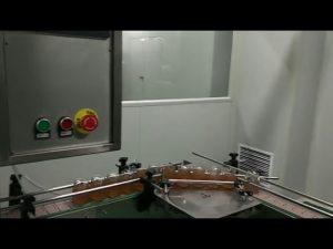 automatisk frukt sylt flaska burk pastasås tvätt fylla kapning märkning maskin