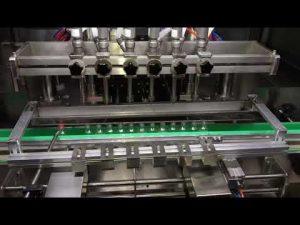 automatisk alkoholbehandlingsgel gelmaskin för daglig kemisk industri