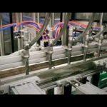 automatisk kolv linjärt rengöringsmedel, schampo, smörjolja viskös tappning maskin