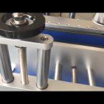dubbelsidig etikett bryggklistermärke automatisk rund flasketiketteringsmaskin