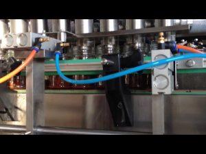 automatisk choklad jordnötssmör tomatsås påfyllningsmaskin