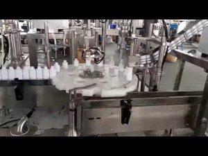 kosmetika medicinsk plastflaskan påfyllningslockningsmaskin