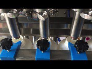 helautomatisk kolvschampo flytande flaskan fyllning maskin pris
