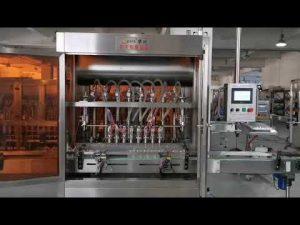 full automatisk tomatsås servofyllningsmaskin
