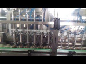 automatisk glas honung burk yoghurt fyllning tätningsmaskin