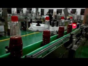 full hastighet full automatisk flaskan fyllning maskin för ketchup, sylt, sås