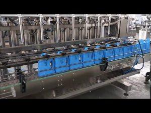 automatisk handrensare flytande tvålpåfyllningsmaskin kolvflaskmaskin