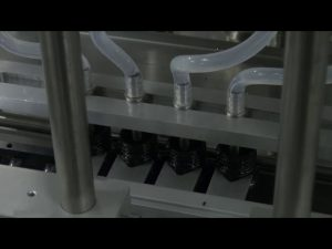 10ml-5l 6-huvuden automatisk skrivbords noggrann vätskefyllningsmaskin