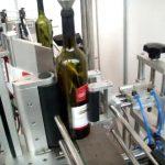 hög hastighet dubbel sida och rund flaska automatisk märkning maskin