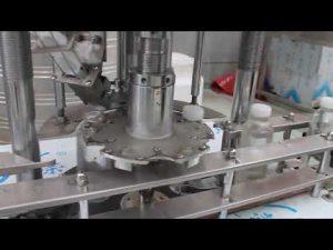 automatisk roterande takmaskin med enhuvud av plastflaskor