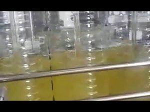 automatisk flaskan fyller ätbar oljepackmaskin