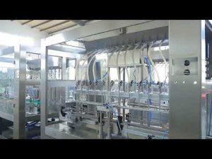 fabriken automatisk linjär viskös flytande ätlig olja flaskan fyllning maskin